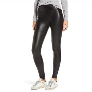Spanx Faux Leather Leggings High Rise in Black